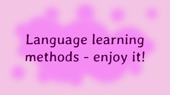 Language learning methods